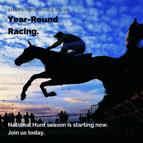 Instagram Graphic Created for All Seasons Racing Club